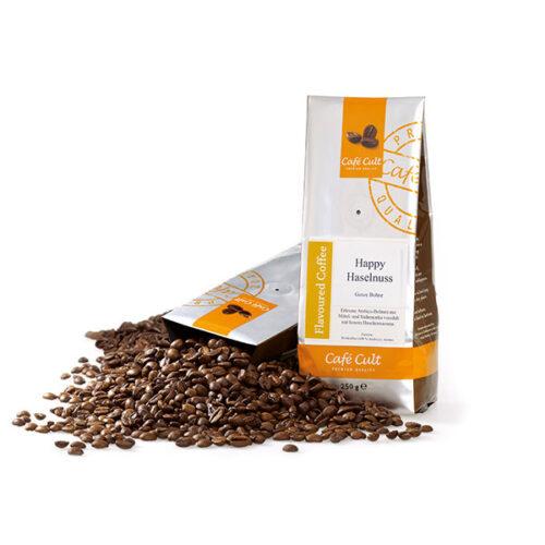 Mosolygós mogyorós Arabica blend ízesített kávé