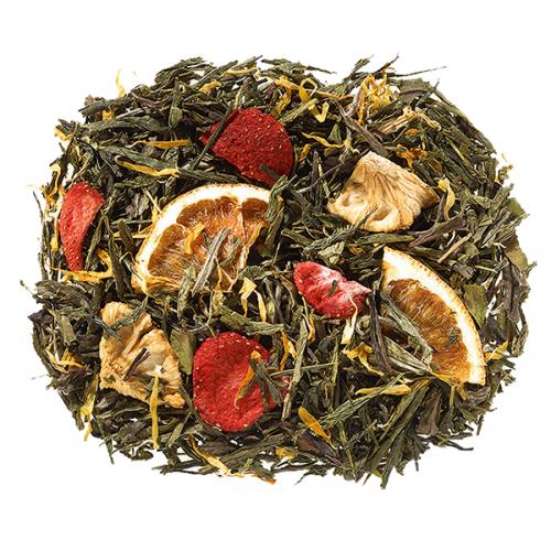 Zahara Rügyfakadás zöld szálas tea keverék