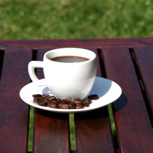Crema porcelán mokkás/kávés csésze + alj szett 6 db