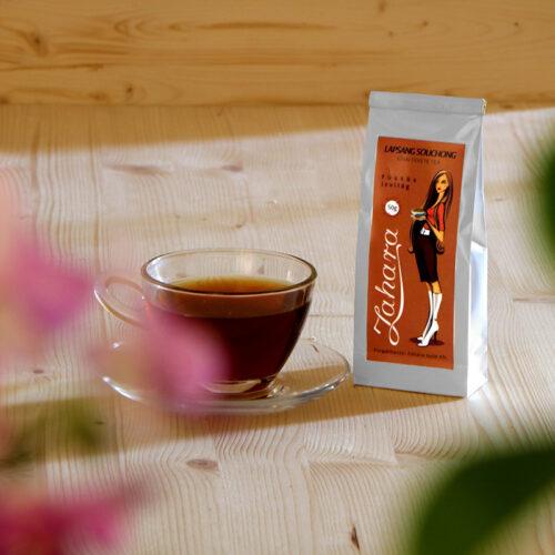 Lapsang Souchong kínai fekete tea Zahara