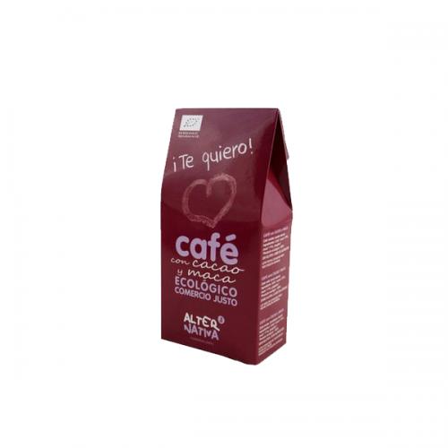 Te Quiero! Szeretlek! AlterNativa őrölt kávé és kakaó keverék maca-val, természetes vágyfokozó hatással