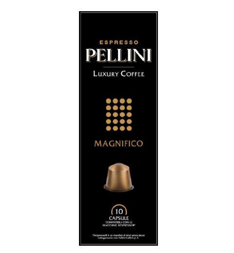 P025091 PELLINI LUXURY COFFEE MAGNIFICO 100% ARABICA NESPRESSO KOMPATIBILIS KÁVÉKAPSZULA 10x5GR