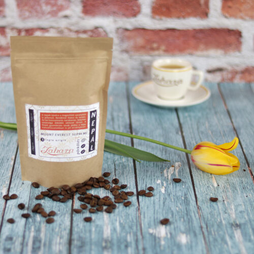 Zahara Nepál Mount Everest Supreme single origin frissen pörkölt szemes kávé közepes francia pörköléssel