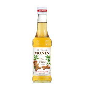 Monin kávészirup mézeskalács ízű 25 cl