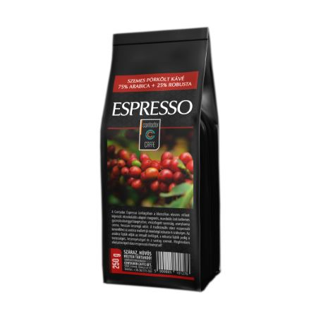 Contador Espresso szemes kávé kézműves pörkölőből frissen pörkölt kávé 250g
