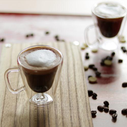 Duplafalú espresso kávéscsésze szett