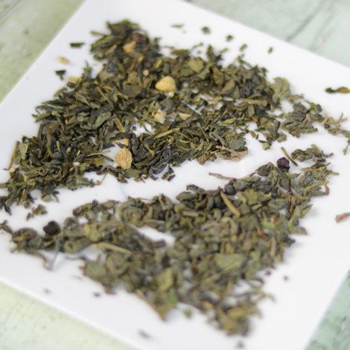 Frissülj fel! menta és gyömbér zöld tea válogatás doboz - Zahara