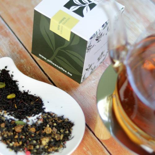 Trüffel krémes fekete tea válogatás doboz - Zahara tea