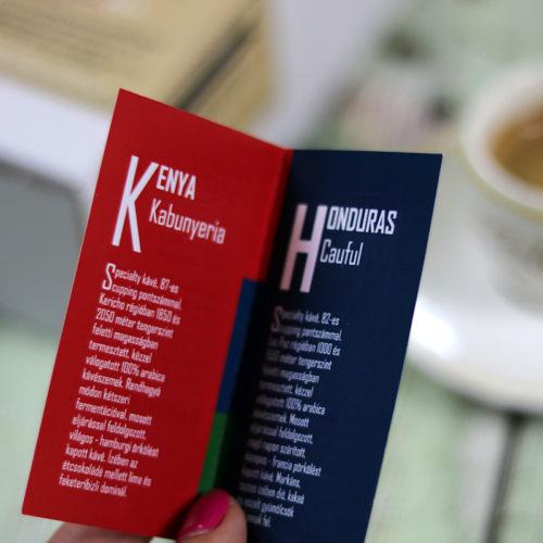 Zahara Coffee Travel szemes specialty kávé válogatás ajándékdoboz
