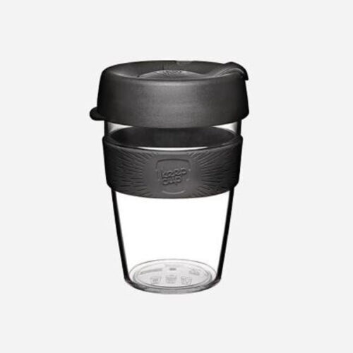KEEPCUP COFFEE TO GO POHÁR CLEAR PLASZTIK TO GO POHÁR KÁVÉS TERMOSZ BATCH 340 ML