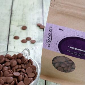 Zahara belga forró csoki pasztilla - karamelles tejcsokoládé