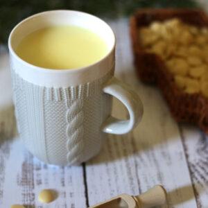 Kötött pulcsis bögre - szürke / fehér teás, kávés bögre - karácsonyi bögre