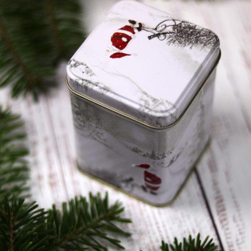 Mikulás csomag felnőtteknek - karácsonyi tea, télapó teadoboz, angyalkás teatojás