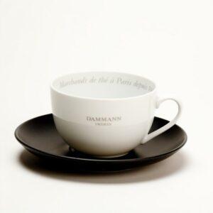 Porcelán teáscsésze - cappuccino csésze Dammann