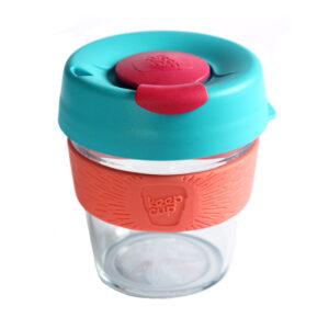 KeepCup Clear coffee to go Radiant S hordozható kávéspohár