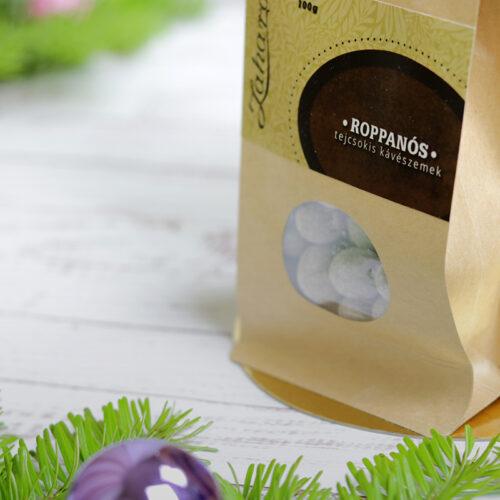 Zahara Roppanós kávés csokidrazsé, tejcsokis kávészem