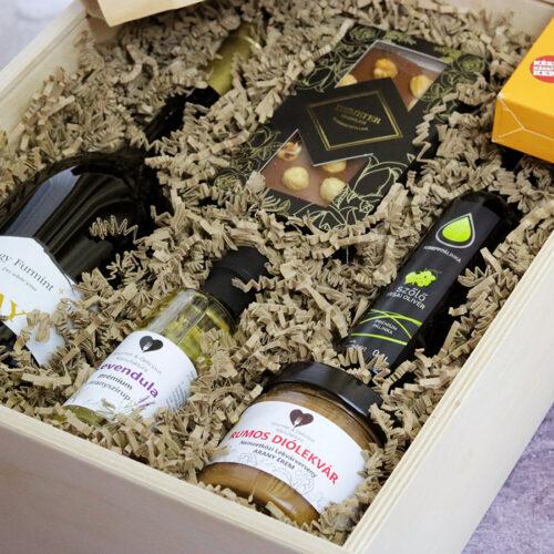 Gold selection exkuzív gasztroajándék válogatás ajándékcsomag
