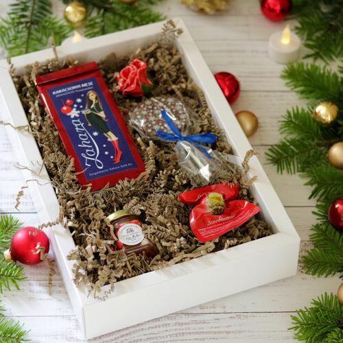 Karácsonyi ajándékcsomag nőknek, szerelmes ajándék szerelmemnek