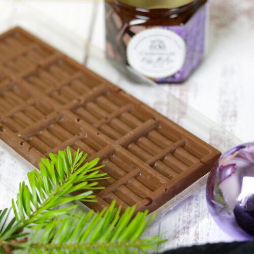 Demeter levendulás csokoládé ajándék - kézműves csoki tábla