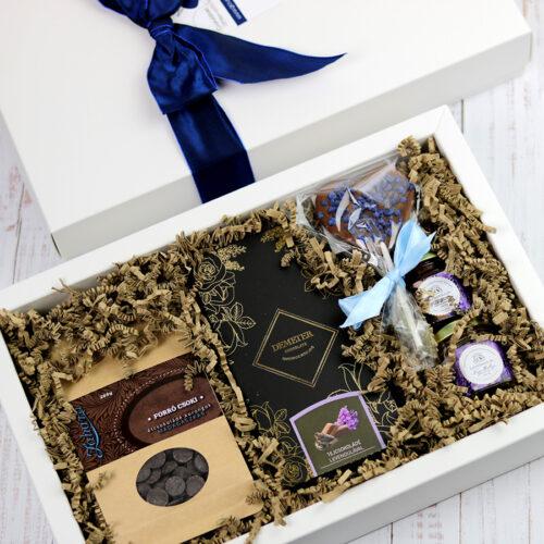 Levendula - csokoládé ajándékcsomag