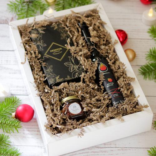 Pálinka karácsonyi gasztroajándék ajándékcsomag férfiaknak