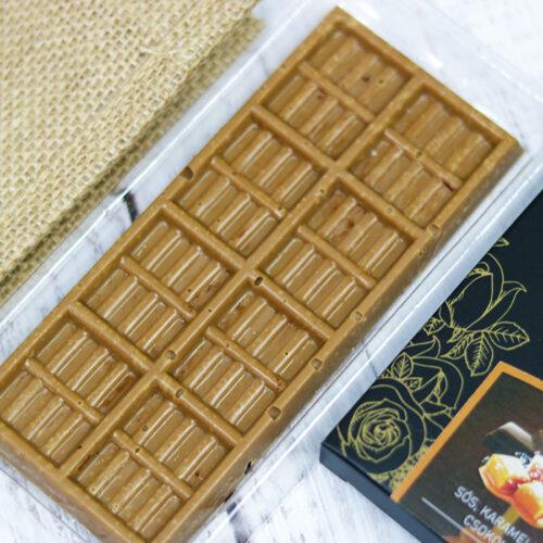 Demeter sós karamellás kézműves csokoládé tábla