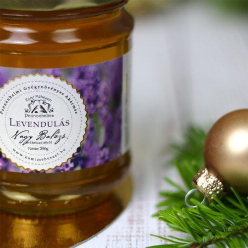 Pannonhalmi termelői Zümi levendulás méz, levendula méz