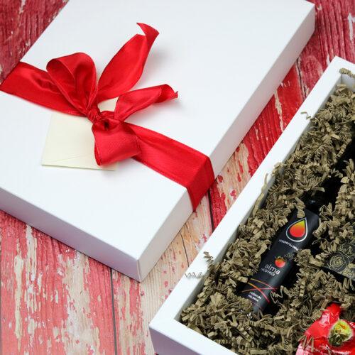 Pálinka és csokoládé ajándékcsomag nőknek