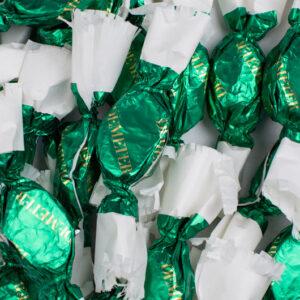 Demeter kézműves szaloncukor - fenyő zöld