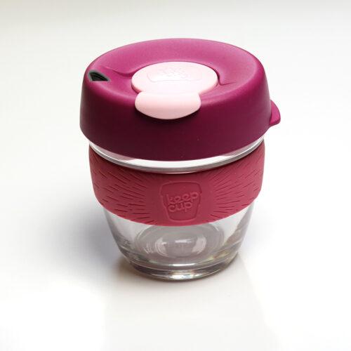 Keepcup brew coffee to go üveg kávéspohár - Blossom S