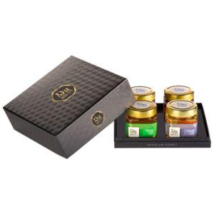 Dr. Honey díjnyertes tokaji ajándék mézválogatás díszdobozban