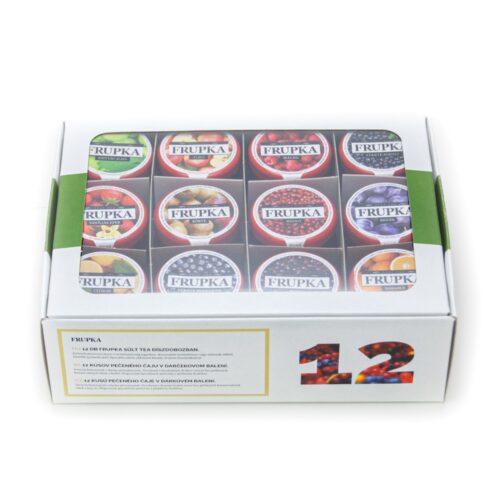 Frupka sült tea díszcsomagban 12 db-os ajándékcsomag