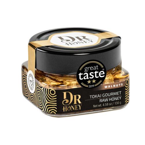 DrHoney tokaji dió ágyon érlelt méz különlegesség