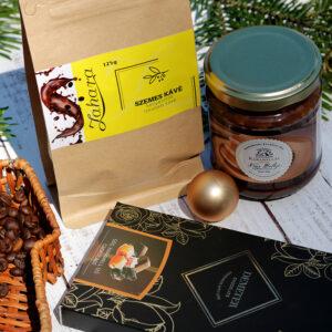 KARAMELLA méz, kávé és csokoládé ajándékcsomag