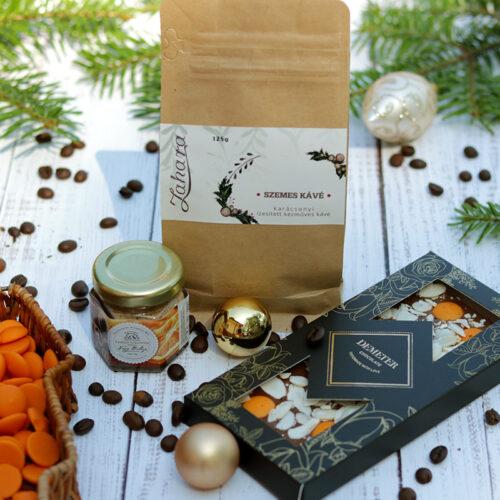 NARANCS karácsonyi kávé, méz és csokoládé ajándékcsomag