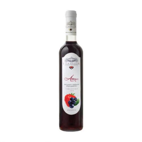 tahitótfalui díjnyertes áfonya és eper gyümölcsbor félédes gyümölcsbor epermester pincészet desszertbor