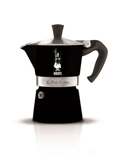 BIALETTI MOKA Express kotyogós kávéfőző 3 személyes fekete