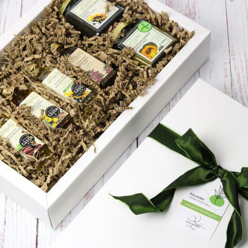 Grapiola hidegen sajtolt olaj és magkrém válogatás ajándékcsomag