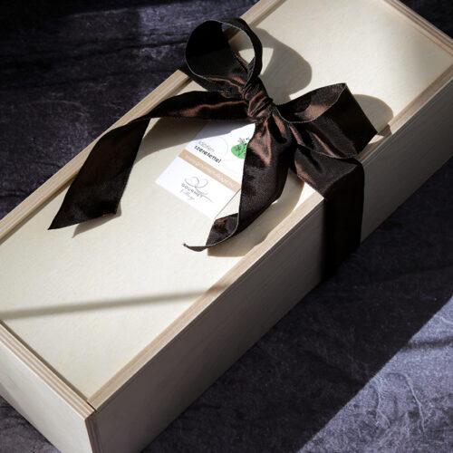 Tolótetős fadoboz - ajándékdoboz, ajándékcsomagolás