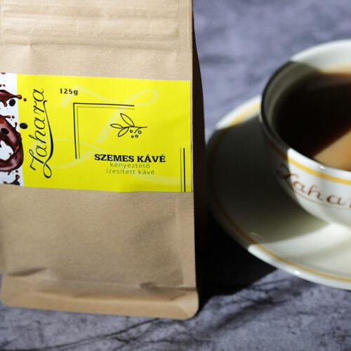 Zahara ízesített szemes kávé